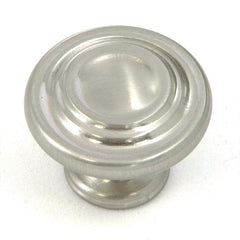 CP1398-SN   Satin Nickel Three Ring Cabinet Knob