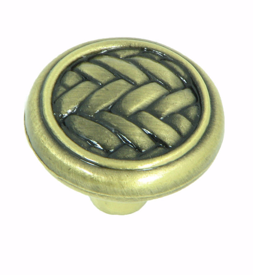 CP80498-ABR   Antique Brass Harris Cabinet Knob