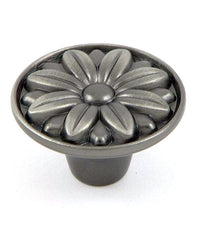 CP81521-WEN   Weathered Nickel Mayflower Cabinet Knob