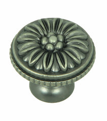 CP82112-WEN   Weathered Nickel Dahlia Cabinet Knob