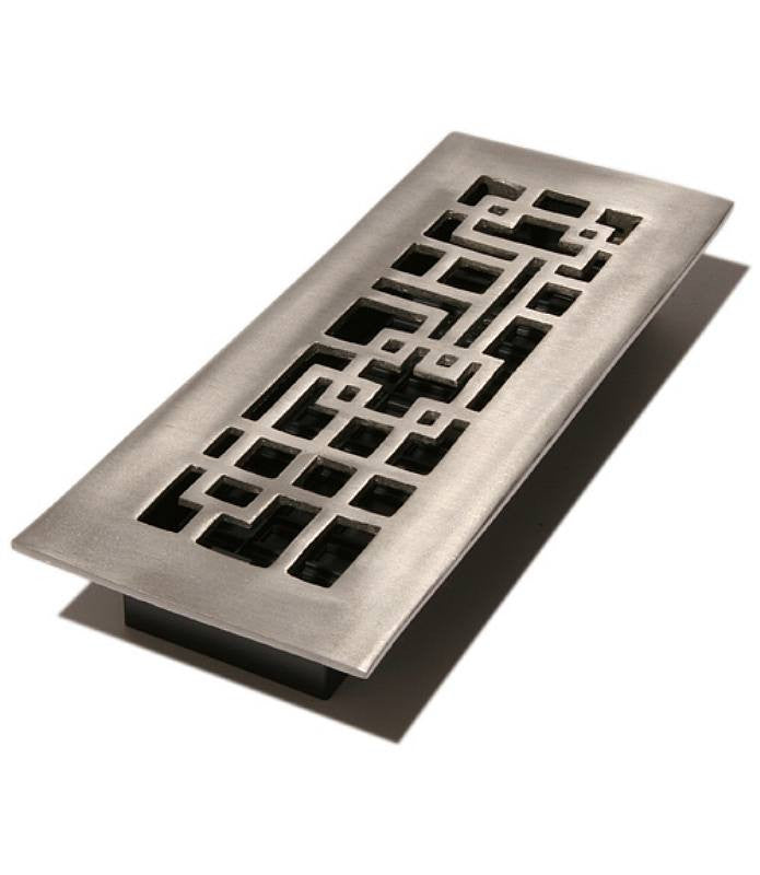 "DGABA410 - Decor Grates 4""x10"" Cast Floor Register"""