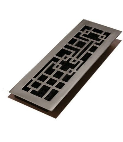 "DGABA412 - Decor Grates 4""x12"" Cast Floor Register"""