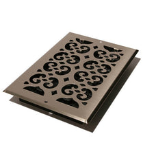 "DGSP610W - Decor Grates Wall/Ceiling 6""x10"" Plated Wall/Ceiling Register"