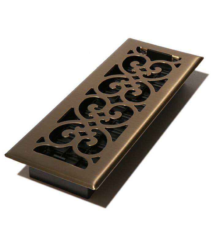 "DGSPH410 - Decor Grates 4""x10"" Register Floor Register"
