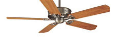 "HF23255 - 54 "" Hunter Paramount XP Pewter Ceiling Fan- 23255"