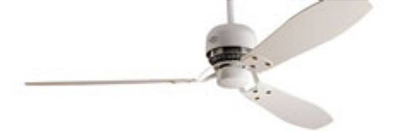 "HF28120 - 60"" Hunter Tribeca Satin White Ceiling Fan- 28120"
