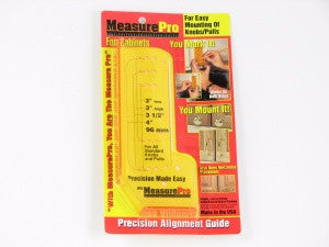 MP27154 - Measure Pro Template for Cabinet Knob Installation