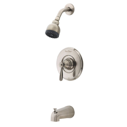 PPR89 - Price Pfister Marielle Satin Nickel Tub/Shower R89-8MBK