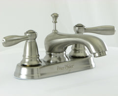 "PPT48 - Price Pfister Satin Nickel 4"" Bathroom Faucet T48-PKOO"