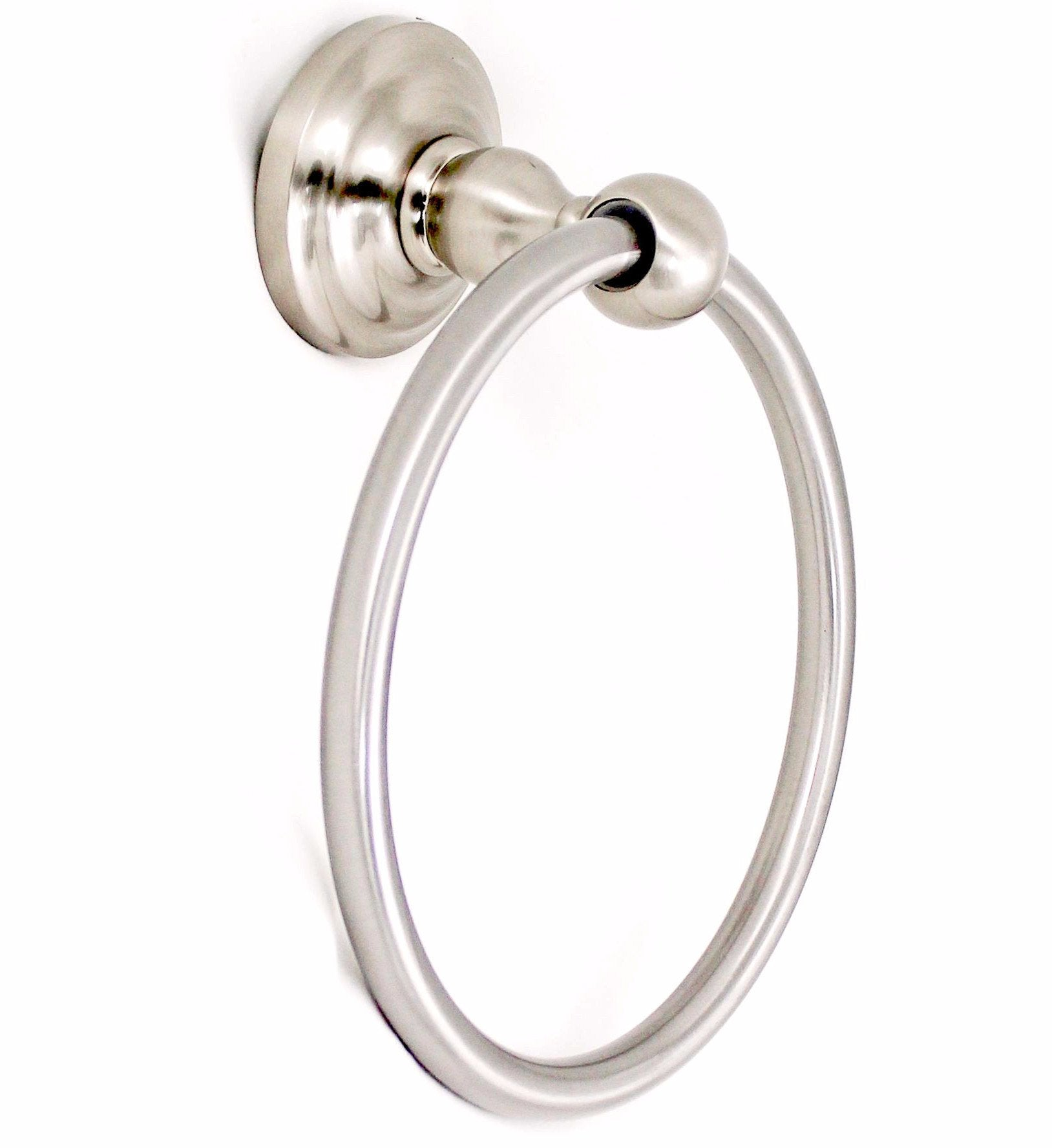 SMB16160-SN - Towel Ring in Satin Nickel, Scottsdale Collection