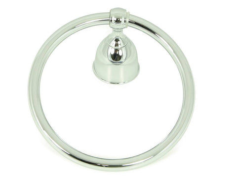 SMBH7404-CH  Alexandria Collection Towel Ring - Chrome