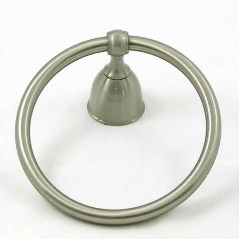 SMBH7404-SN  Alexandria Collection Towel Ring - Satin Nickel