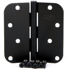 "SMH4058-OB   4"" Oil Rubbed Bronze 5/8"" Radius Corner Door Hinge - (2 Pack)"