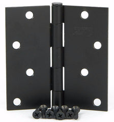 "SMH40SQ-OB   4"" Oil Rubbed Bronze Square Corner Door Hinge - (2 Pack)"