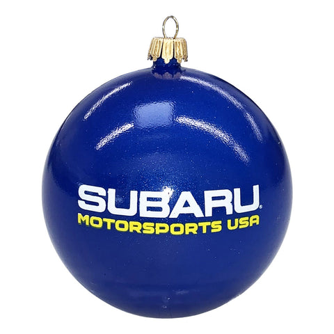 Subaru Motorsports USA Shatterproof Christmas Ball Ornament
