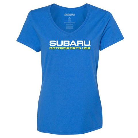 2019 - Subaru Motorsports USA - Ladies - S/S T-Shirt