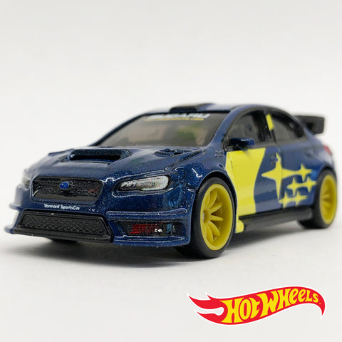 Hot Wheels 2019 Subaru Motorsports USA WRX STI Diecast Rally Car