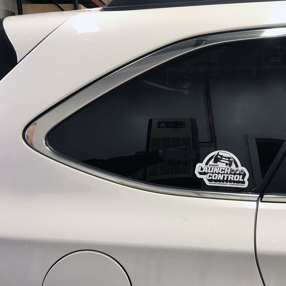 subaru launch control vinyl decals 2 pack vermont sportscar subaru launch control vinyl decals 2 pack