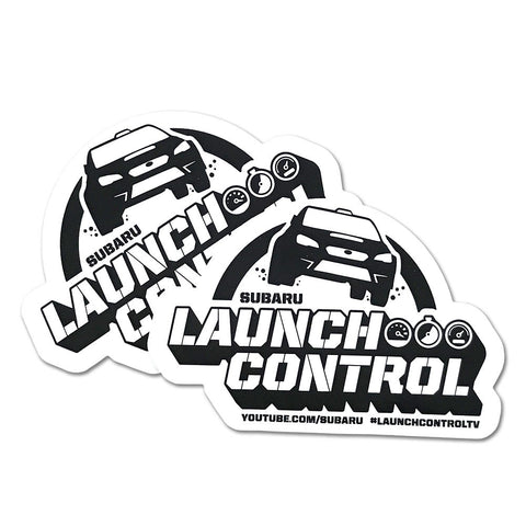 Subaru Launch Control Vinyl Decals - 2 PACK