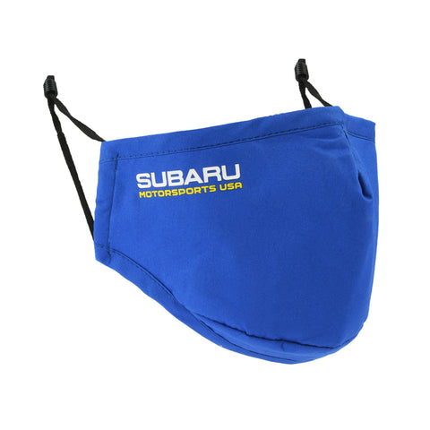 2020 Subaru Motorsports USA | Adult Cotton Face Mask - Blue