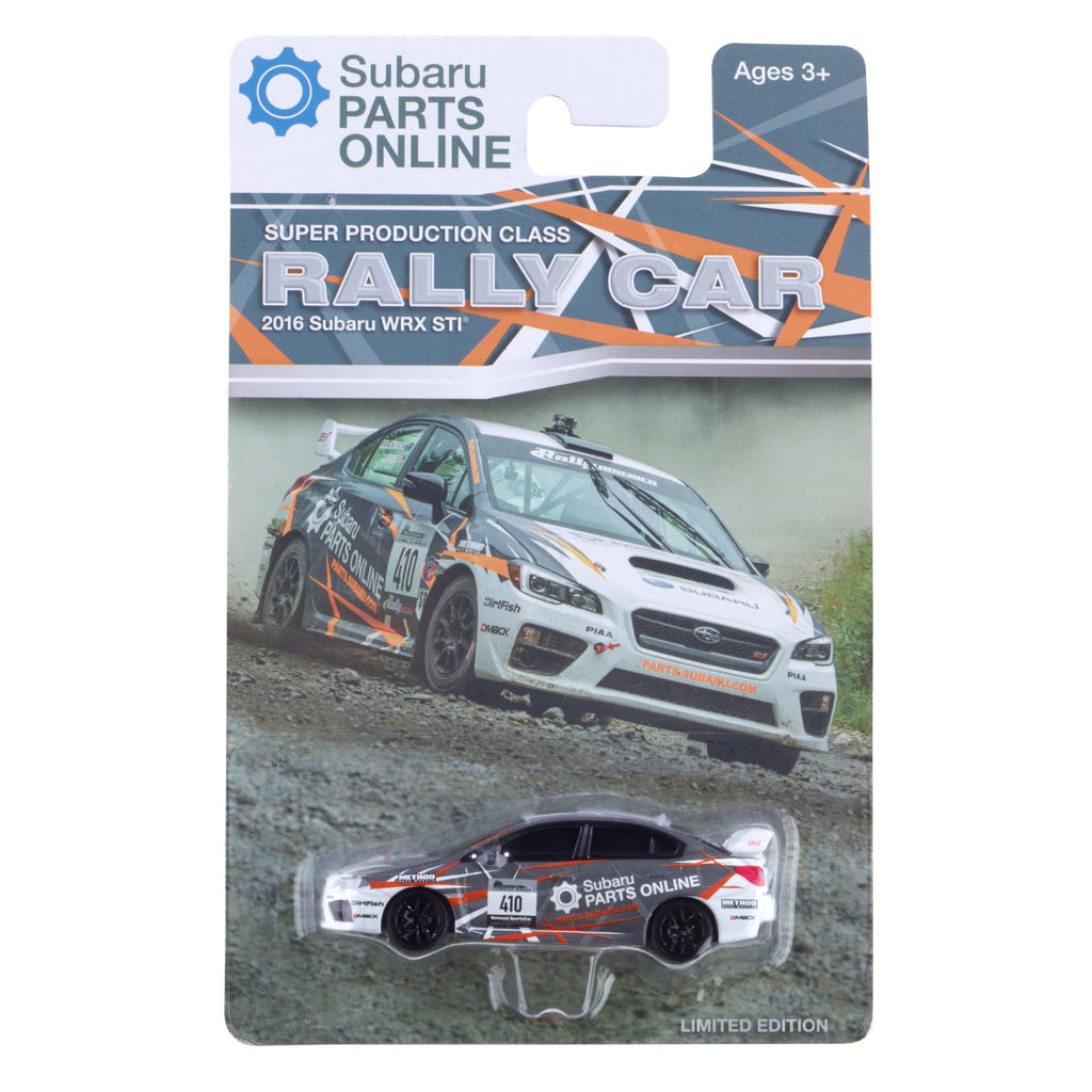 Diecast Subaru WRX STi Super Production Rally Car