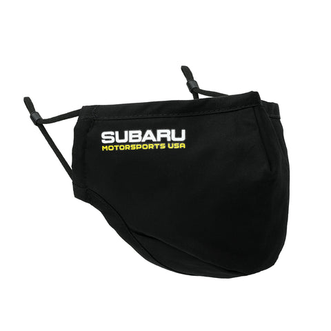 2021 Subaru Motorsports USA | Cotton Face Mask - Black