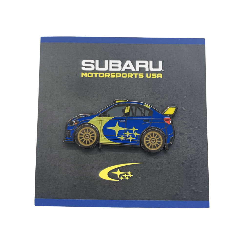 Subaru Motorsports USA | Leen Customs Limited Edition Subaru Rally Car Collectors Pin