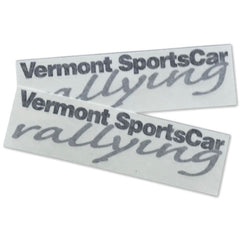 Vermont SportsCar Die Cut Vinyl Decals - 2 PACK / 2 Color