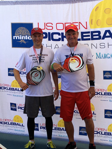 Dave Weinbach and Barry Waddell Gold US Open Pickleball