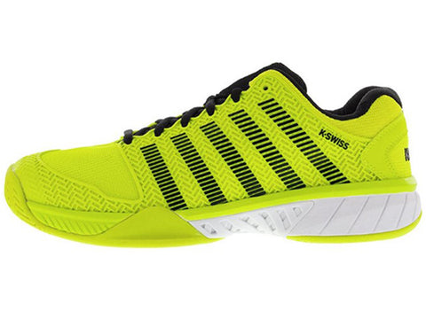 K- Swiss Hypercourt Express Tennis Shoe Men's Neon Yellow/Black 03377-739