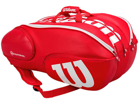 Wilson Vancouver Pro Staff Red/White Bag 15pk