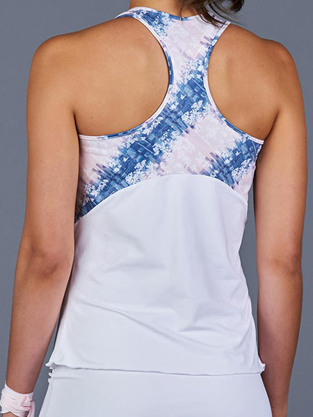 Denise Cronwall NY Square Racerback Top