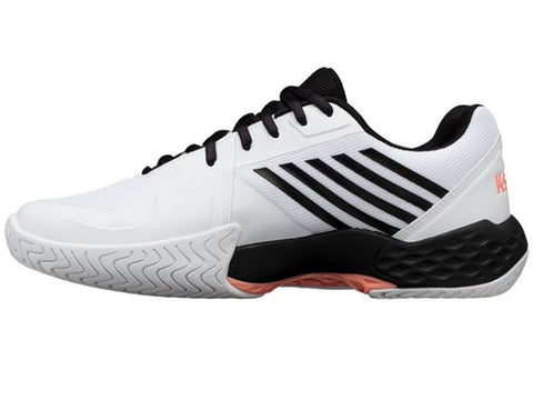 K-Swiss Aero Court White/Black/Orange Men's Shoes 06134-134