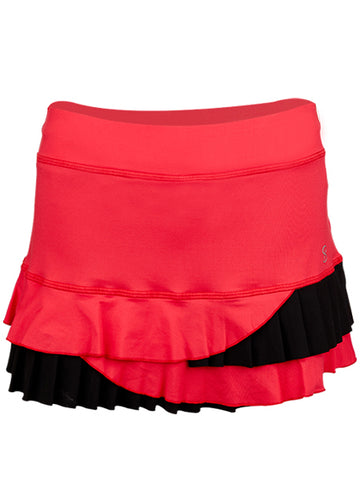 Sofibella Match Point Layered 13'' Skort 1683-BER