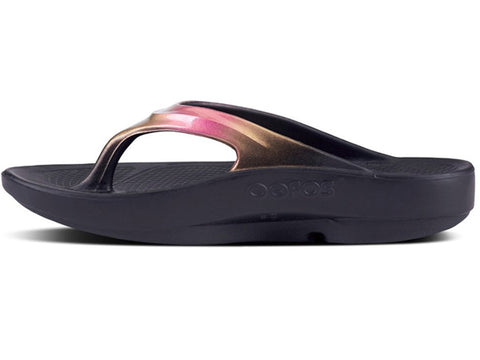 Oofos Women's OOlala Luxe Sandal Rose Gold 1401ROSE