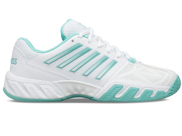 K-Swiss Bigshot Light 3 White/Blue Women's Shoes 95366-121