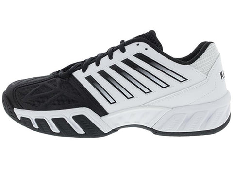 K- Swiss Bigshot Light 3 Tennis Shoes Men's White/Black 05366-129