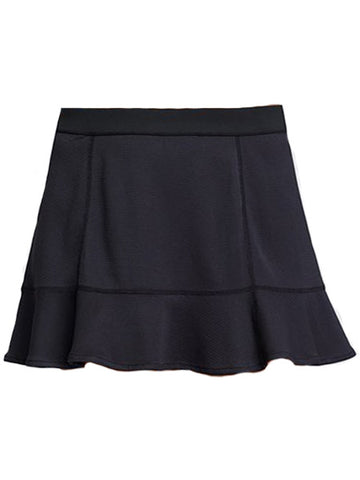 Tail Vibrant Glam Leanna Reversible Solid Skirt w/Trim Black TX6949-999X
