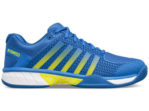 K-Swiss Express Light Pickleball Men's Shoe Blue/Neon Citron 06563-426