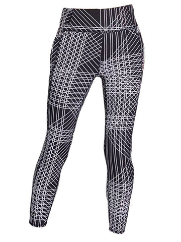Tail Vibrant Glam Ivory Leggings Flow Print TA6923-F586