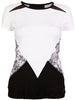Sofibella Match Point Cap Sleeve Top 1963-WHT
