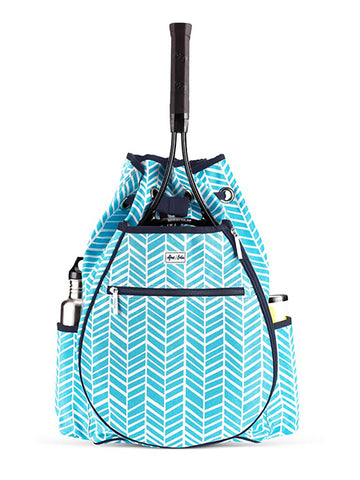 Ame and Lulu Surf Kingsley Tennis Backpack TBP097