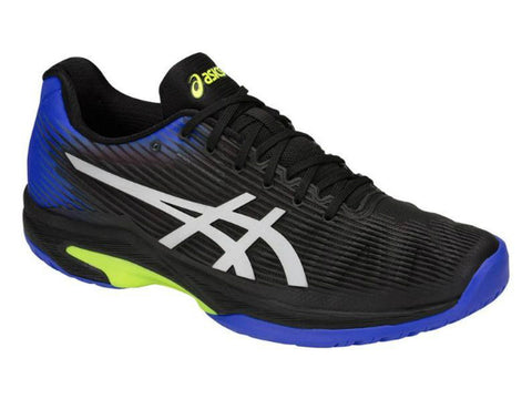 Asics Solution Speed FF Black/Illusion Blue Men's Shoe 1041A003-011