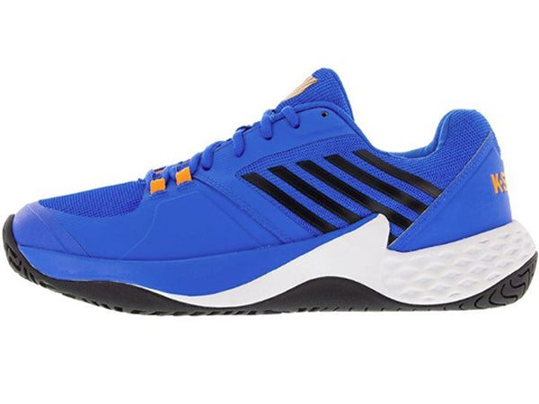 K- Swiss Aero Court Men's Brilliant Blue/Neon Orange 06134-427