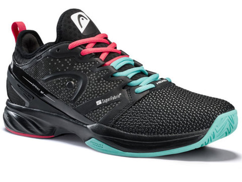 Head Sprint SF Black/Teal Men's Shoes