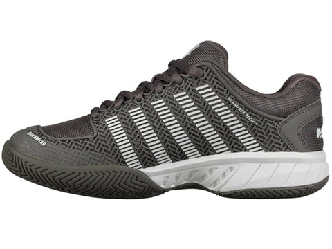 K-Swiss Hypercourt Express LE Womens Shoe Grey/White 93377-080