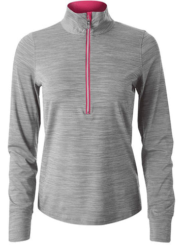 Bolle Viper Long Sleeve 1/4 Zip Ash Heather Grey 8725-27-2134
