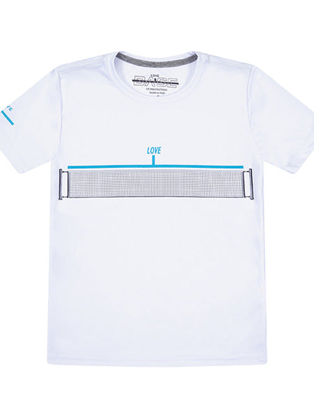 "Baseline Tennis ""Love Net"" Youth Tennis T-Shirt BLT-17"
