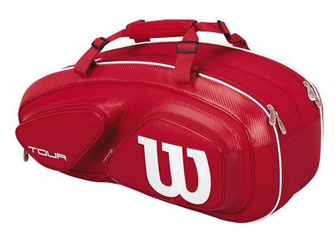 Wilson Tour V Red 6pk Bag
