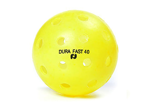 Pickle-ball Inc. Dura 40 Outdoor Ball Yellow